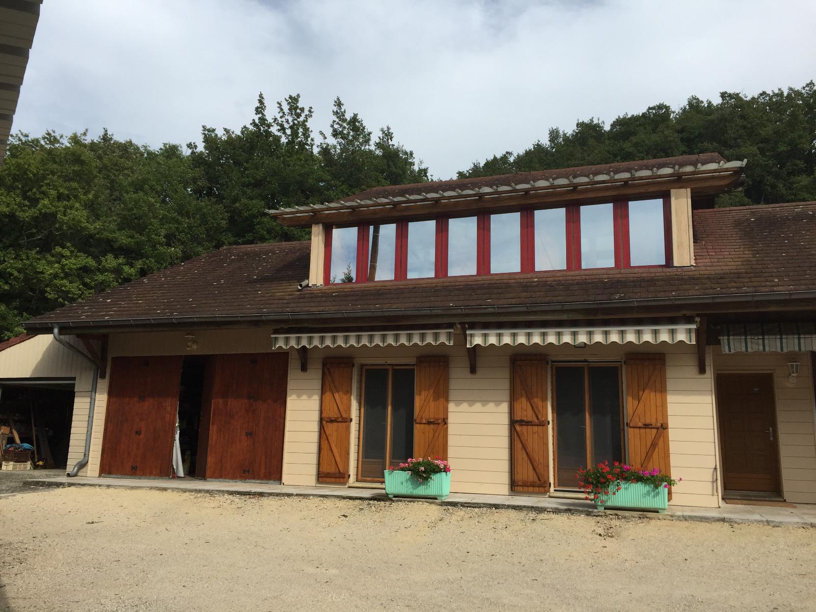vente villa ossature bois